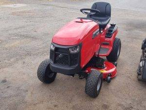 red snapper lawn mower