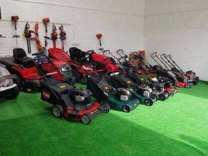 collection of snapper lawn mowers
